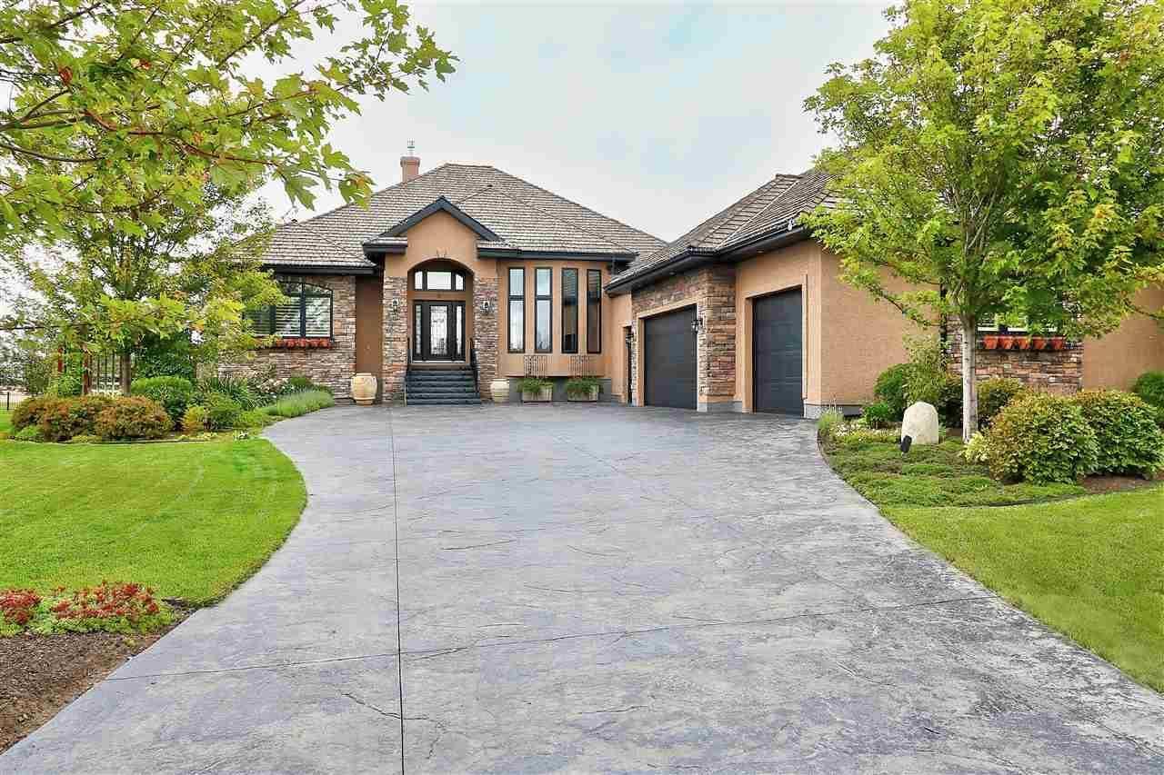 House for sale at 6 Riverridge Cres Rural Sturgeon County Alberta - MLS: E4139200