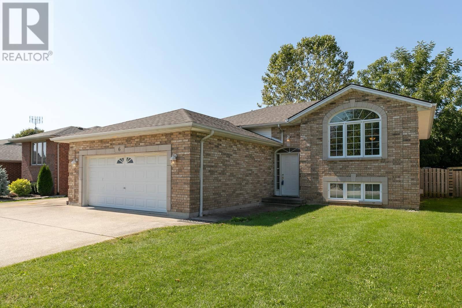 House for sale at 6 Shepley  Harrow Ontario - MLS: 19025590