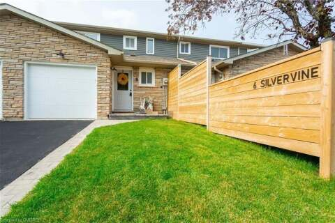 Townhouse for sale at 6 Silvervine Dr Stoney Creek Ontario - MLS: 40017316