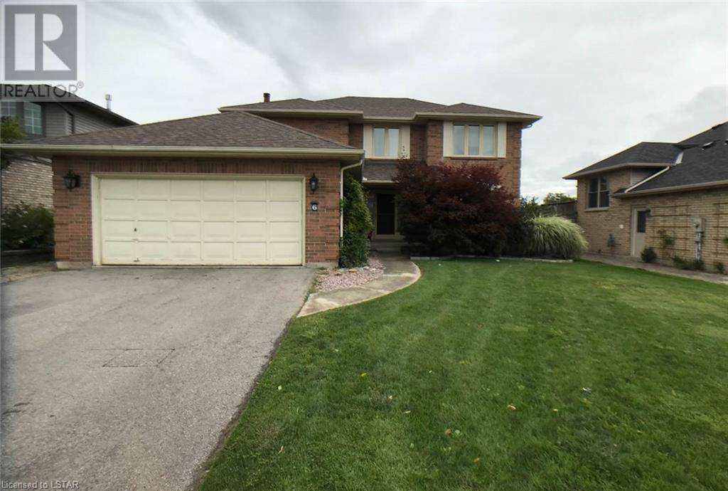 House for sale at 6 Sports Field Cres London Ontario - MLS: 242674