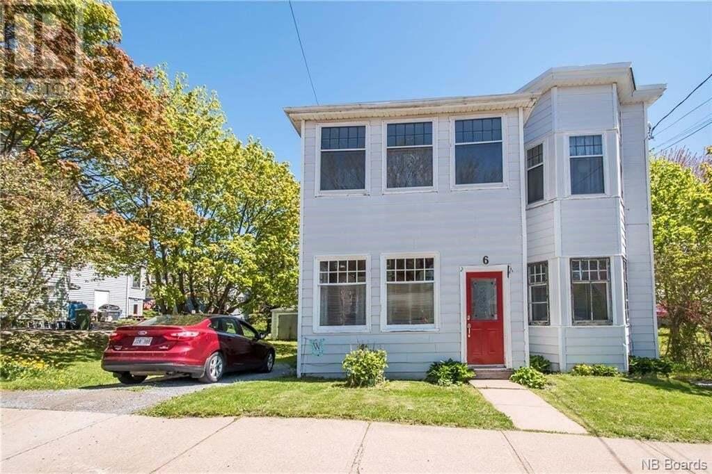 House for sale at 6 Spruce St Saint John New Brunswick - MLS: NB044043