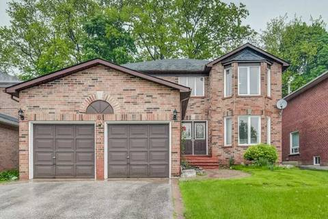 House for sale at 6 Stave Cres Richmond Hill Ontario - MLS: N4479989