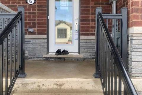 Townhouse for rent at 6 Utter Pl Hamilton Ontario - MLS: X4755111