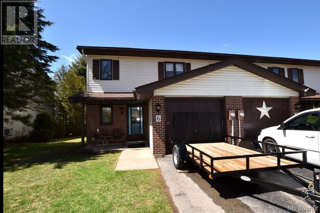 House for sale at 6 Wallace Ct Sussex New Brunswick - MLS: NB043416