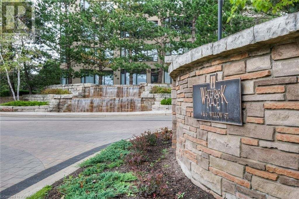 Condo for sale at 6 Willow St Waterloo Ontario - MLS: 40024056
