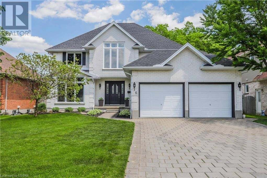 House for sale at 6 Wintergarden Rd London Ontario - MLS: 263622