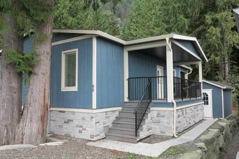 Home for sale at 53480 Bridal Falls Rd Unit 60 Rosedale British Columbia - MLS: R2435049