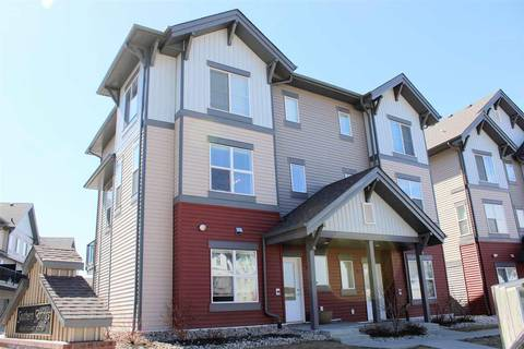 Townhouse for sale at 655 Watt Blvd Sw Unit 60 Edmonton Alberta - MLS: E4153571