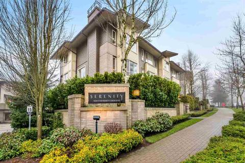 Townhouse for sale at 9229 University Cres Unit 60 Burnaby British Columbia - MLS: R2436648