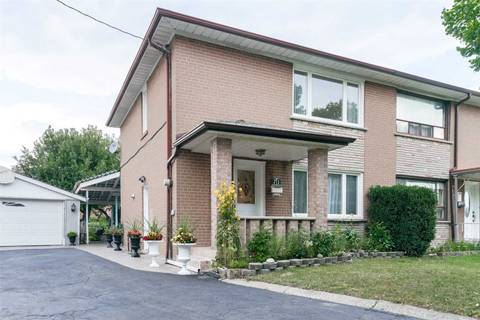 Townhouse for sale at 60 Benway Dr Toronto Ontario - MLS: W4553239