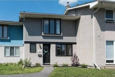 Townhouse for sale at 60 Costello Ave Ottawa Ontario - MLS: 1146143