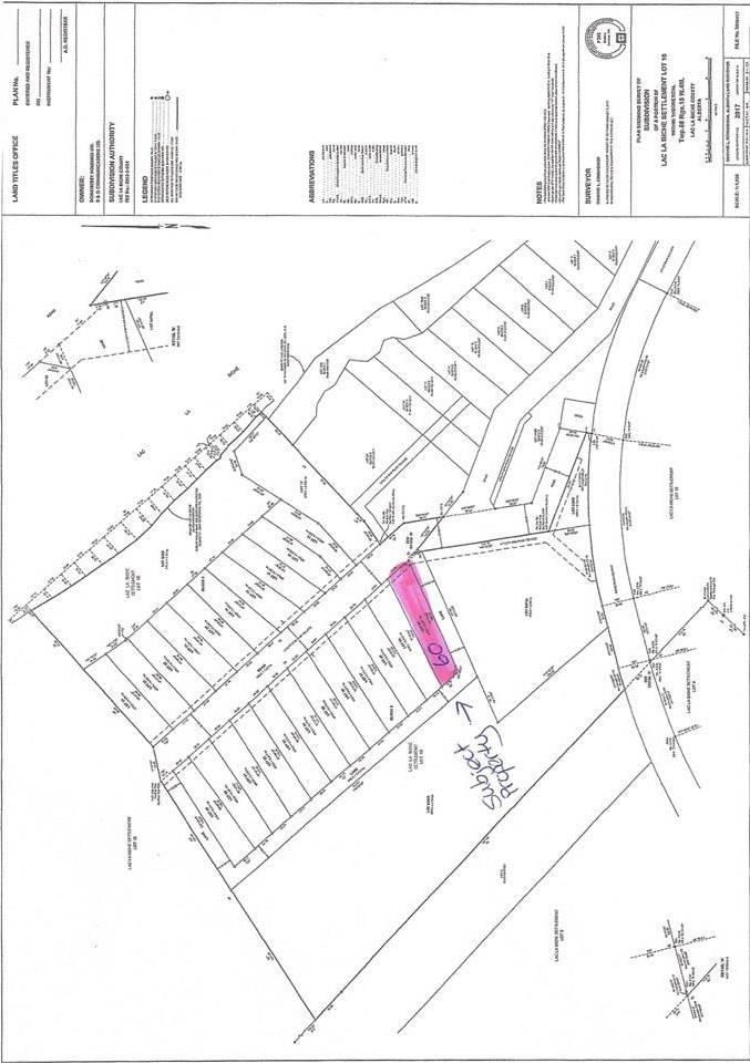 Residential property for sale at 60 Eagle Haunt Estates Rural Lac La Biche County Alberta - MLS: E4175384