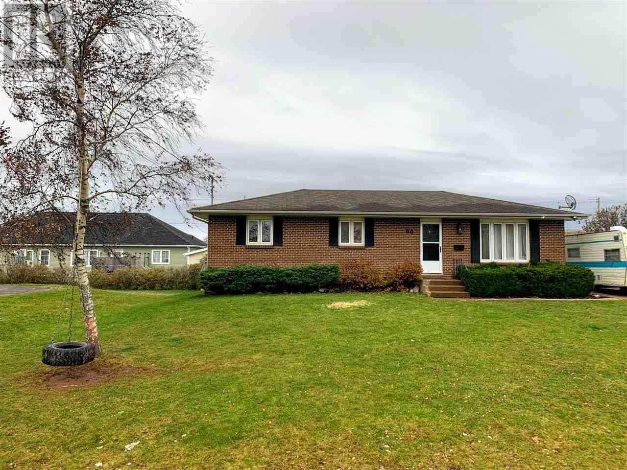 Townhouse for sale at 60 Gamble  Summerside Prince Edward Island - MLS: 201926276