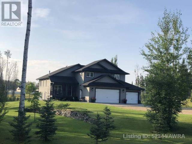 House for sale at 60 Sagitawah Estate  Whitecourt Rural Alberta - MLS: 52344