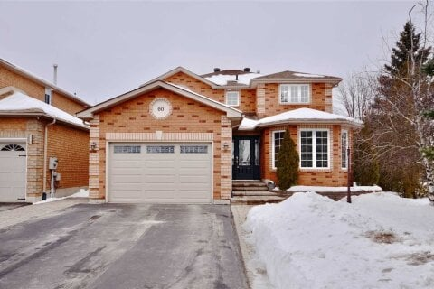 House for sale at 60 Silver Maple Cres Barrie Ontario - MLS: S5081749