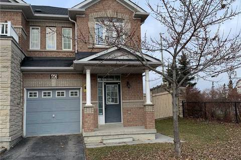 Townhouse for rent at 60 Unionville Cres Brampton Ontario - MLS: W4668224