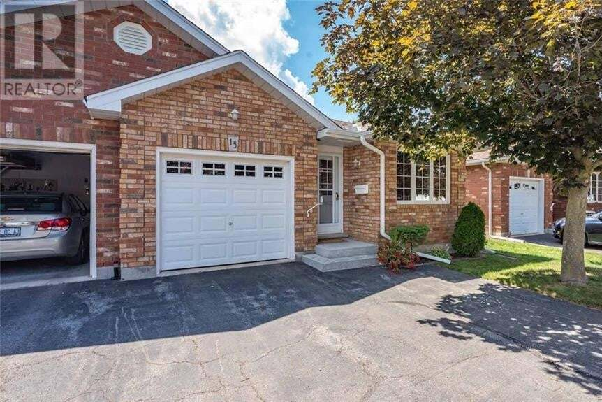 Townhouse for sale at 60 Whitlaw Wy Paris Ontario - MLS: 30826828