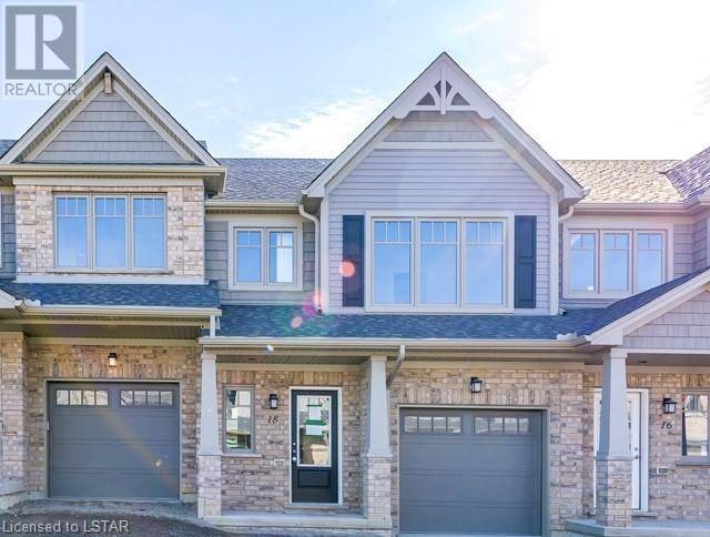 Townhouse for sale at 18 Guiness Wy Unit 600 London Ontario - MLS: 255722