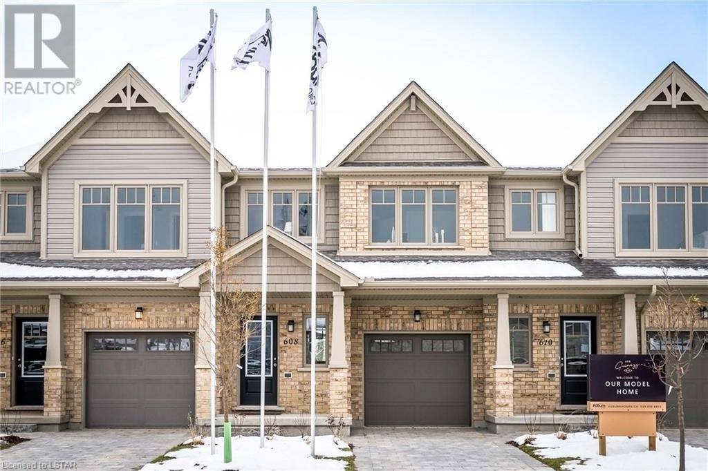 Townhouse for sale at 21 Guiness Wy Unit 600 London Ontario - MLS: 240799