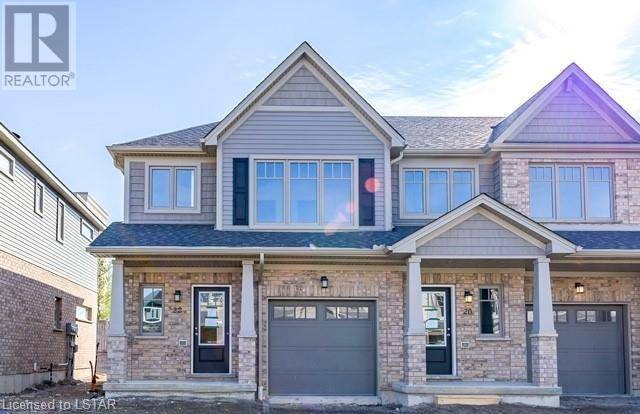 Townhouse for sale at 22 Guiness Wy Unit 600 London Ontario - MLS: 255740