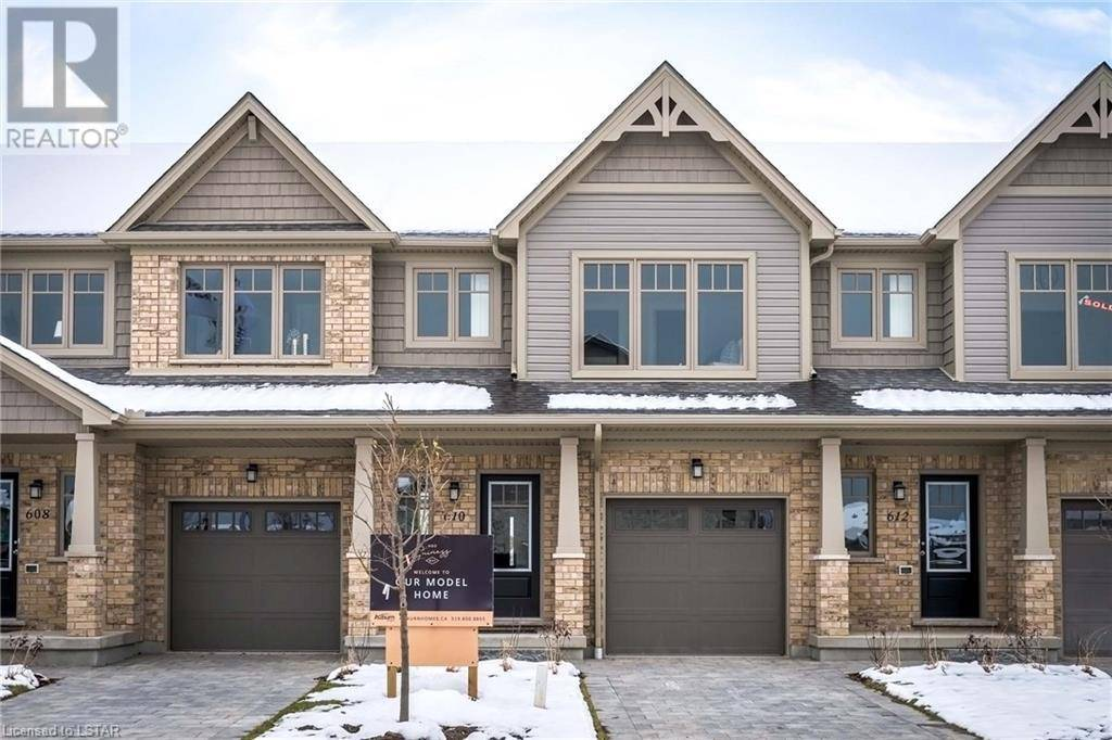 Townhouse for sale at 34 Guiness Wy Unit 600 London Ontario - MLS: 256474