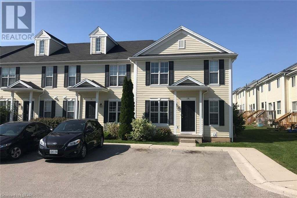 Townhouse for sale at 600 Sarnia Rd London Ontario - MLS: 40024653