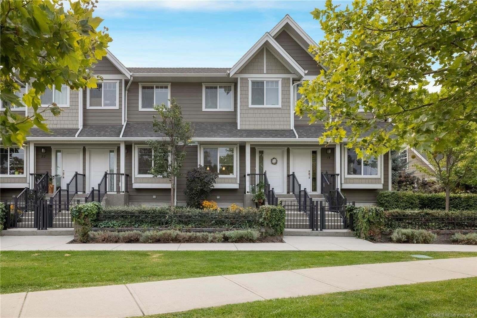 Townhouse for sale at 600 Sherwood Rd Kelowna British Columbia - MLS: 10215414
