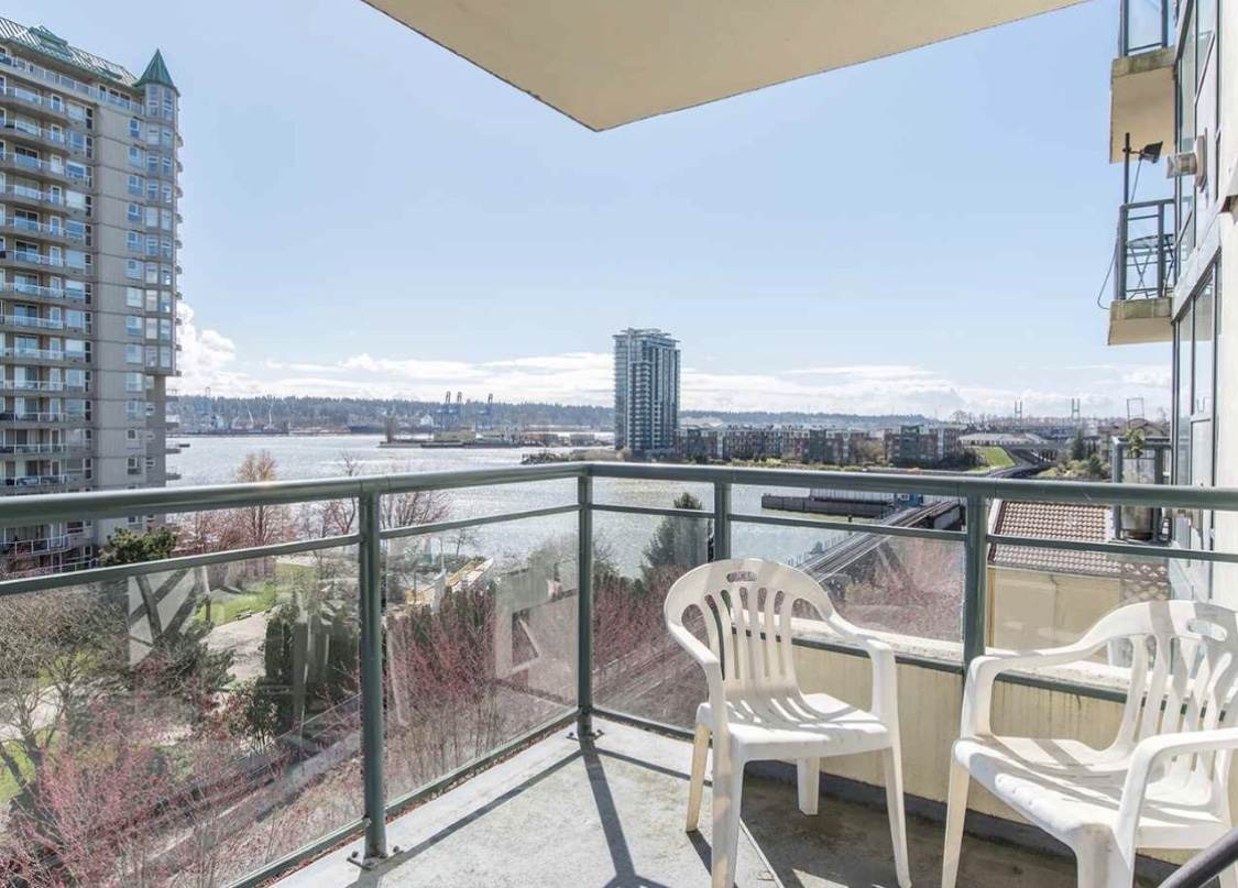 Sold: 601 - 8 Laguna Court, New Westminster, BC