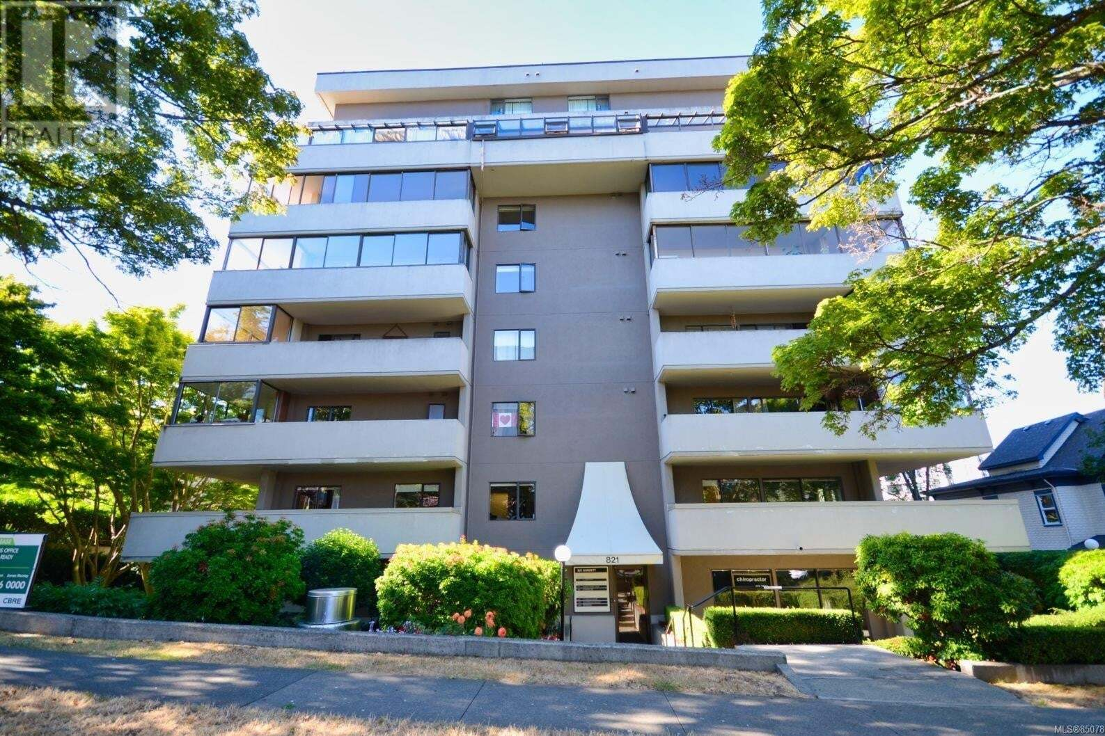 Condo for sale at 819 Burdett Ave Unit 601 Victoria British Columbia - MLS: 850786