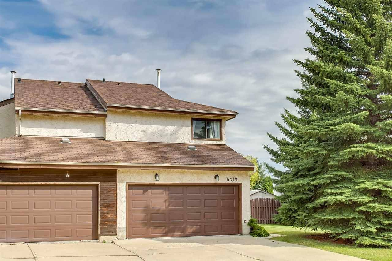 Townhouse for sale at 6013 174 St Nw Edmonton Alberta - MLS: E4172915