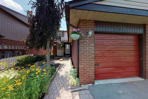 Townhouse for sale at 6018 Featherhead Cres Mississauga Ontario - MLS: W4522652