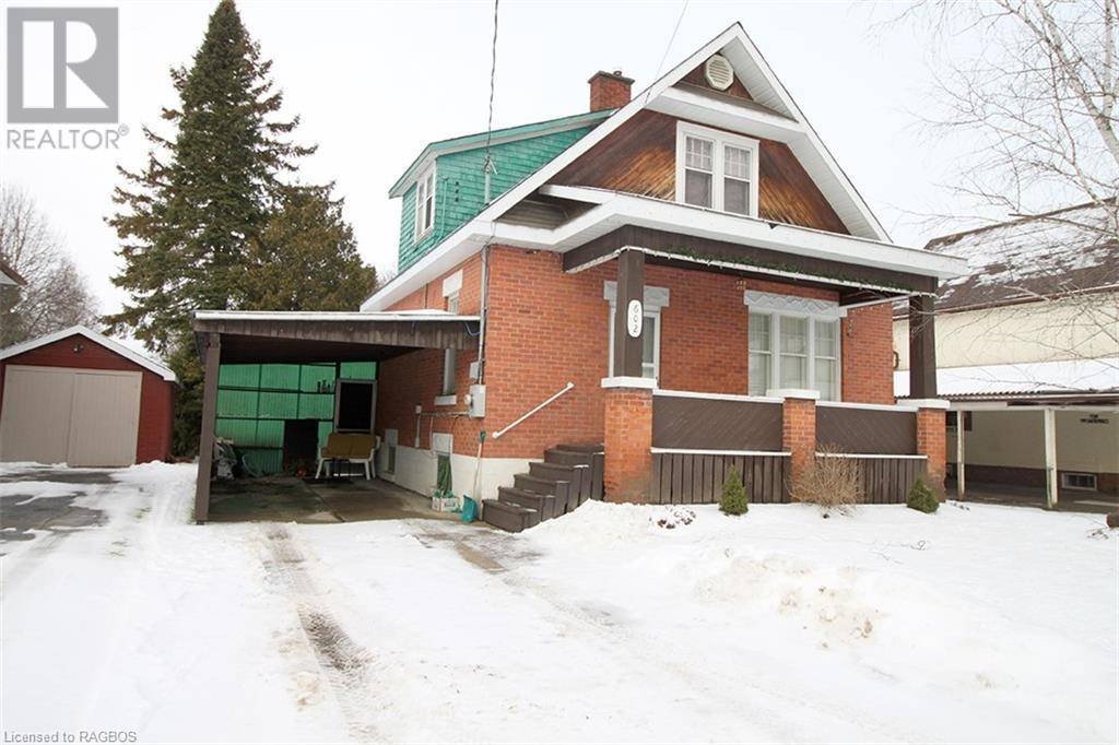 House for sale at 602 12th Ave Hanover Ontario - MLS: 240388