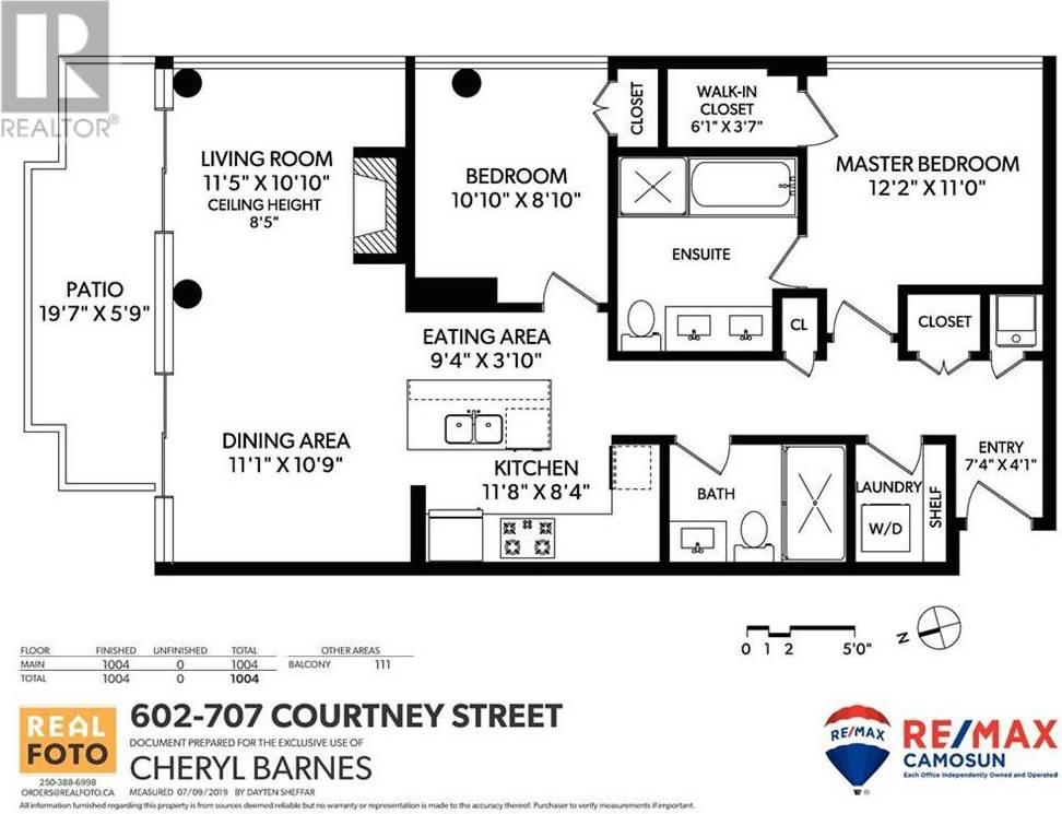 Condo for sale at 707 Courtney St Unit 602 Victoria British Columbia - MLS: 419695