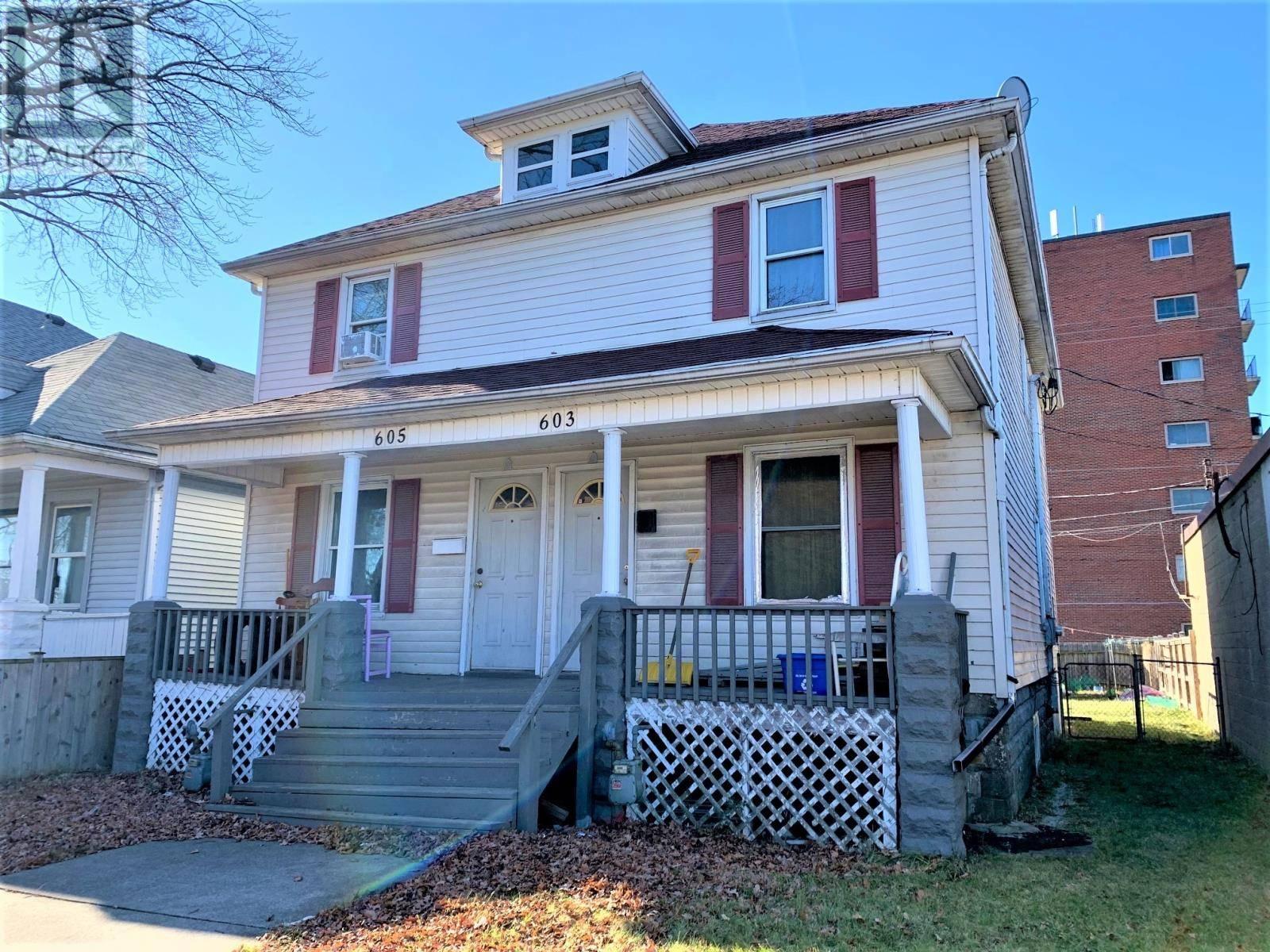 House for sale at 603 Bridge  Windsor Ontario - MLS: 20002058