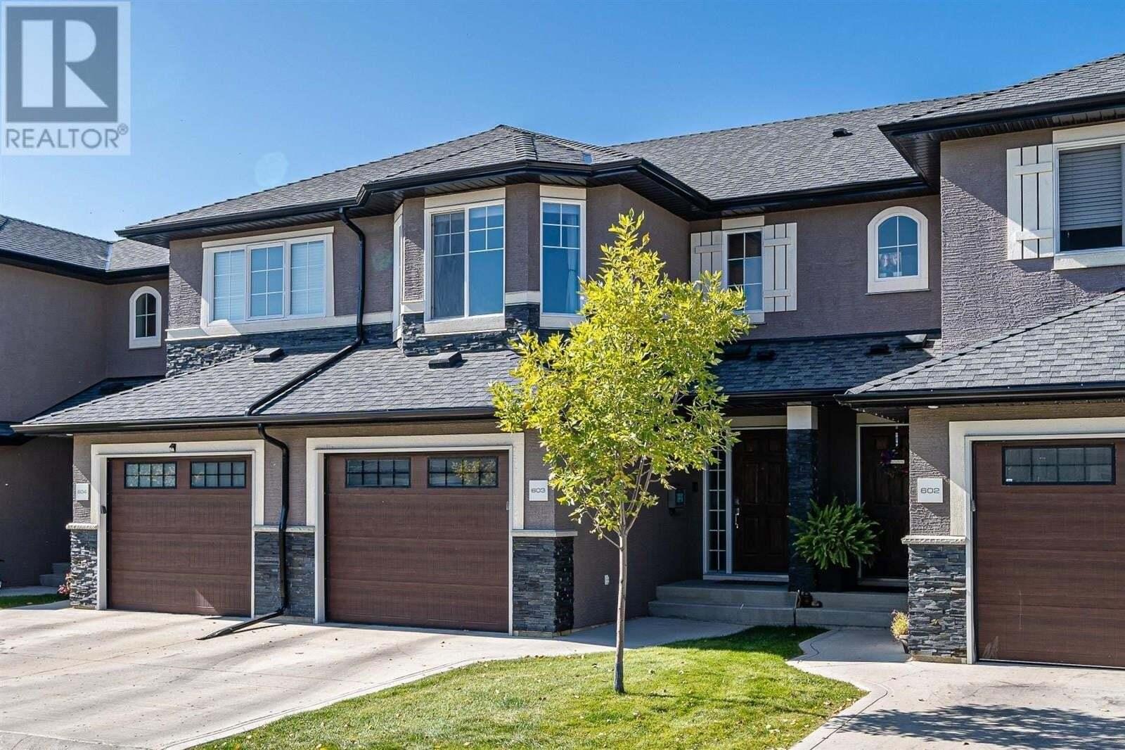 Townhouse for sale at 1303 Paton Cres Unit 603 Saskatoon Saskatchewan - MLS: SK827557