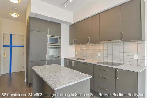 Apartment for rent at 88 Cumberland St Unit 603 Toronto Ontario - MLS: C4856240