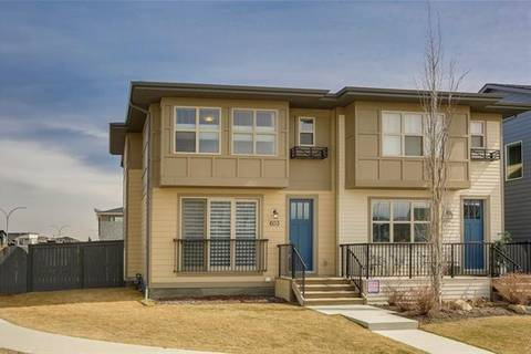 Townhouse for sale at 603 Walden Dr Southeast Calgary Alberta - MLS: C4239340