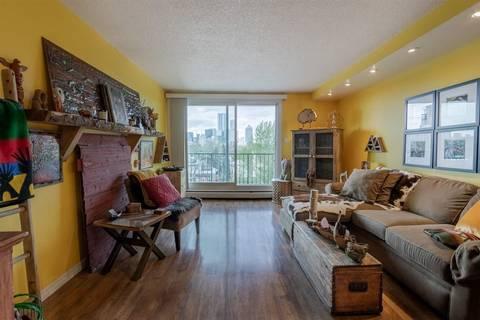 Condo for sale at 9028 Jasper Ave Nw Unit 604 Edmonton Alberta - MLS: E4158561