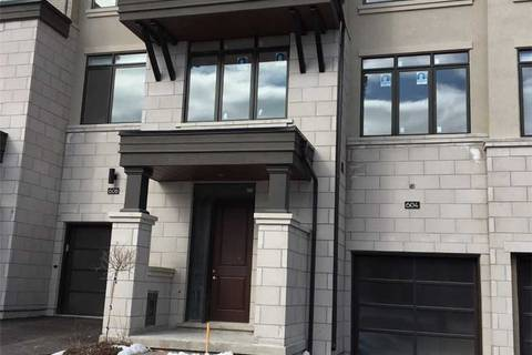 Townhouse for sale at 604 Marc Santi Blvd Vaughan Ontario - MLS: N4699606