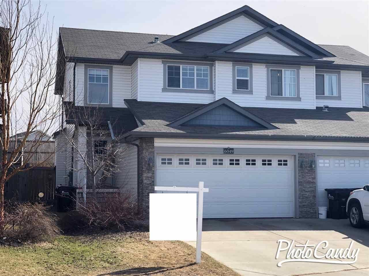 Townhouse for sale at 6049 Sunbrook Landng Sherwood Park Alberta - MLS: E4194171