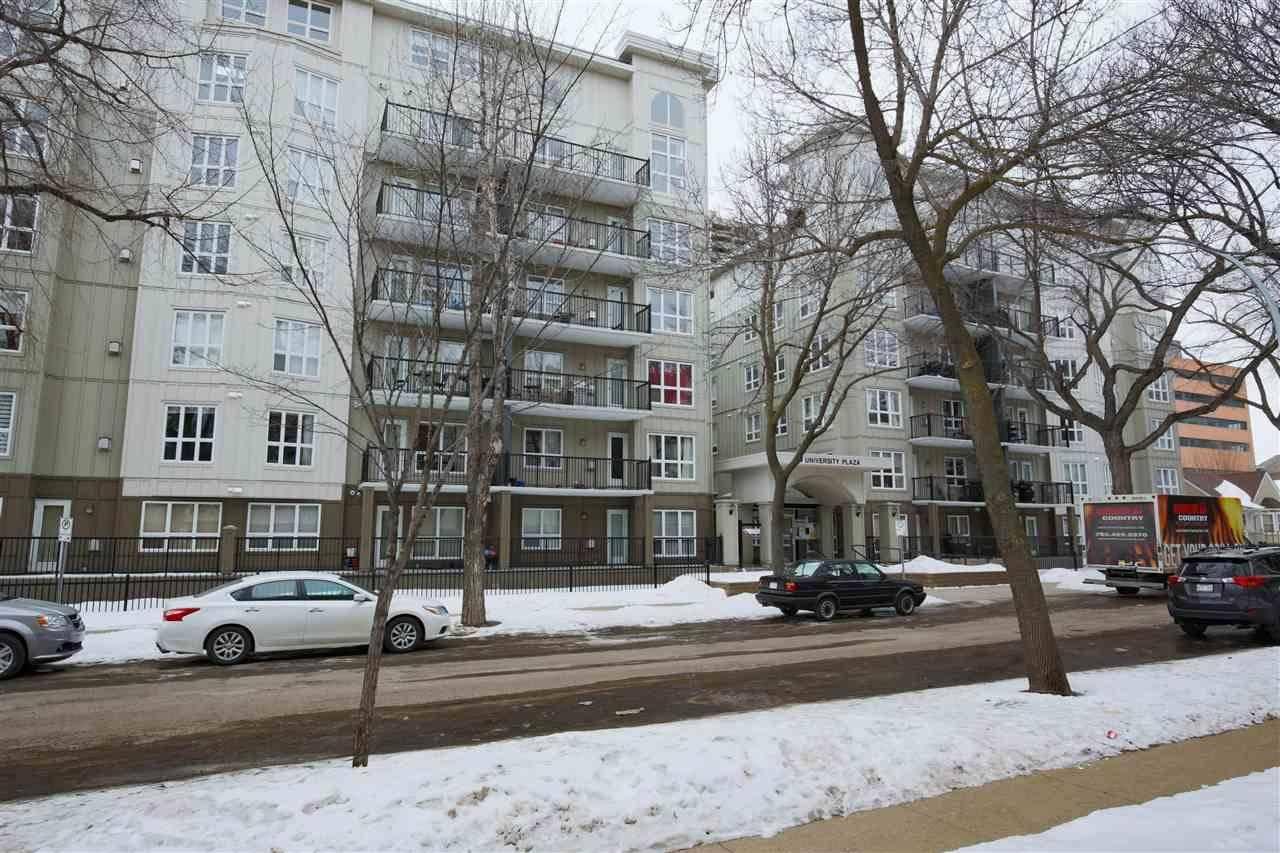 Condo for sale at 11109 84 Ave Nw Unit 605 Edmonton Alberta - MLS: E4182736