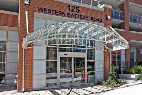 Apartment for rent at 125 Western Battery Rd Unit 605 Toronto Ontario - MLS: C4648939