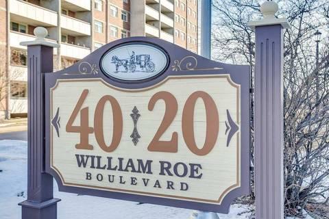 Condo for sale at 20 William Roe Blvd Unit 605 Newmarket Ontario - MLS: N4699884
