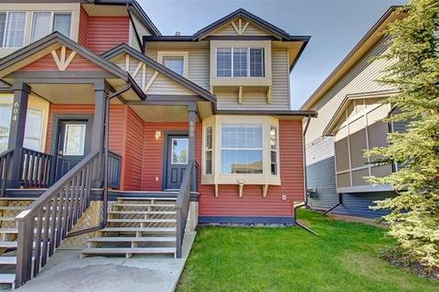 Townhouse for sale at 2066 Luxstone Blvd Southwest Unit 605 Airdrie Alberta - MLS: C4253705