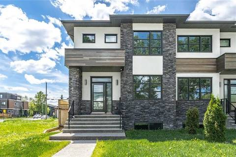 Townhouse for sale at 605 22 Ave Northwest Calgary Alberta - MLS: C4217567