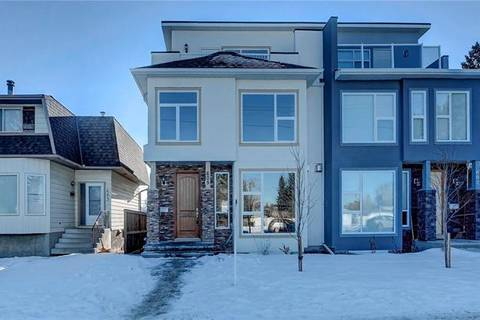 Townhouse for sale at 605 50 Ave Southwest Calgary Alberta - MLS: C4282592