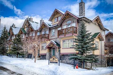 Townhouse for sale at 85 Dyrgas Gt Unit 605 Canmore Alberta - MLS: C4291927