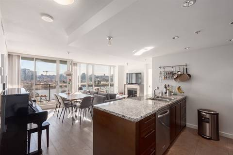 Condo for sale at 918 Cooperage Wy Unit 605 Vancouver British Columbia - MLS: R2376266