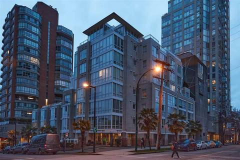 Condo for sale at 910 Beach Ave Unit 606 Vancouver British Columbia - MLS: R2432054