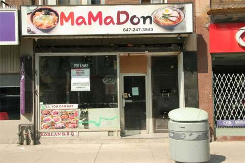 Commercial property for lease at 606 Bloor St Toronto Ontario - MLS: C4901576